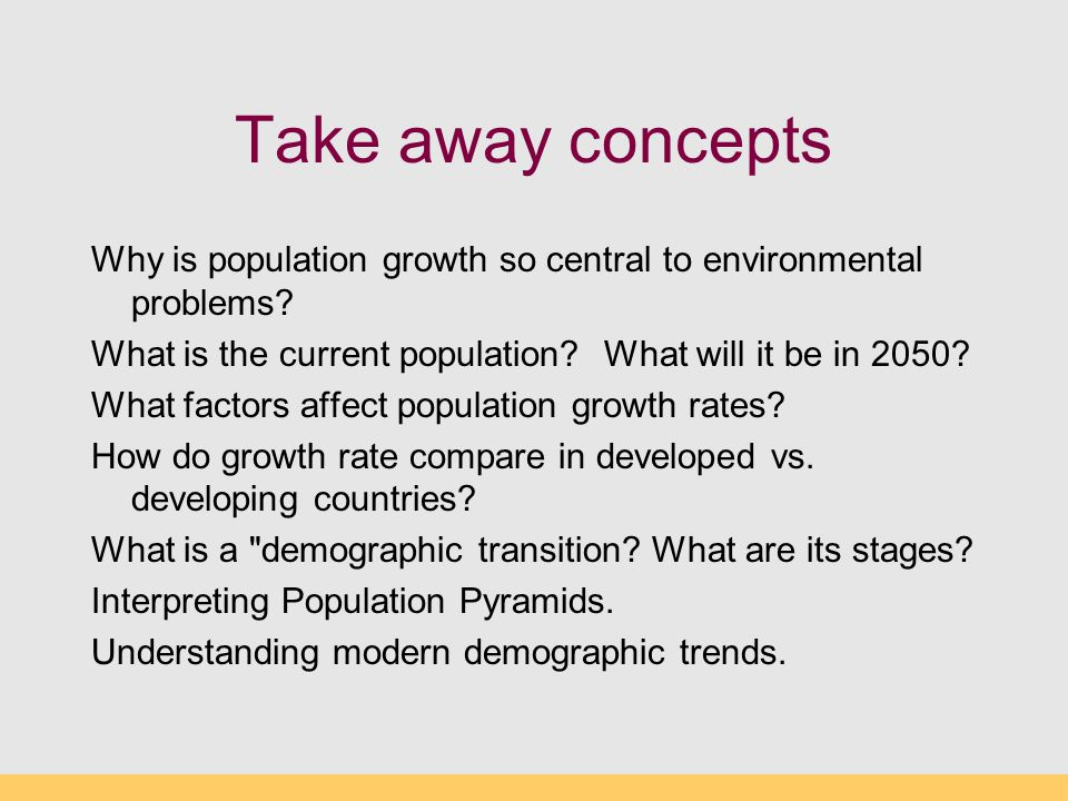how global population growth is creating serious environmental problems essay Retrieved from   global water supply drying up as population growth creating serious environmental issues.