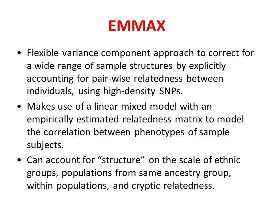 EMMAX