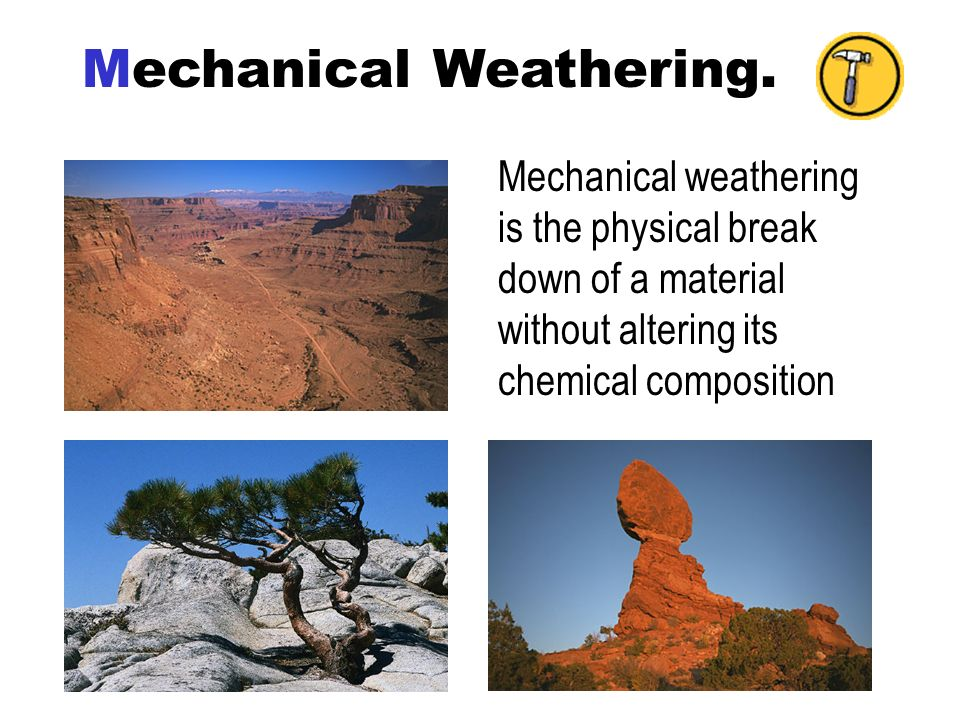 Mechanical Weathering.