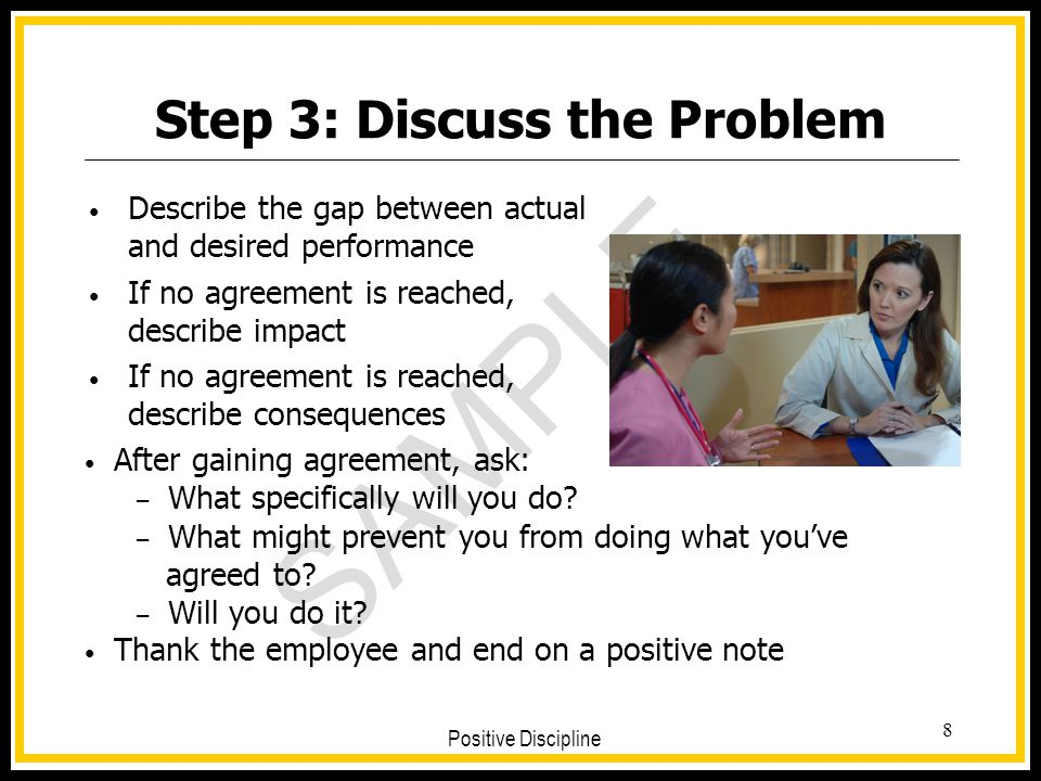 Step 3: Discuss the Problem