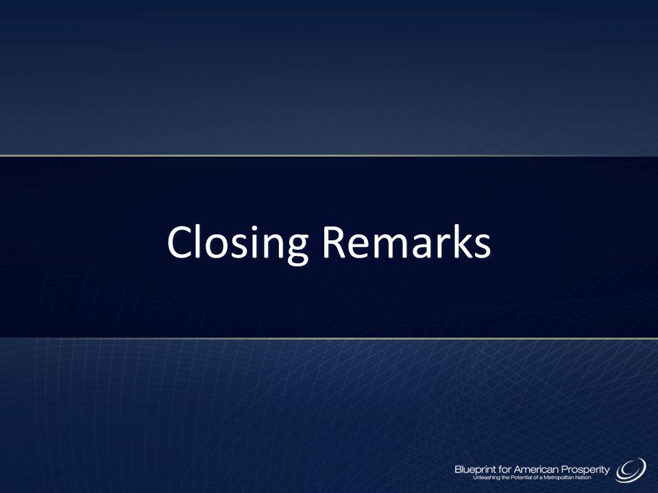 Closing Remarks 58