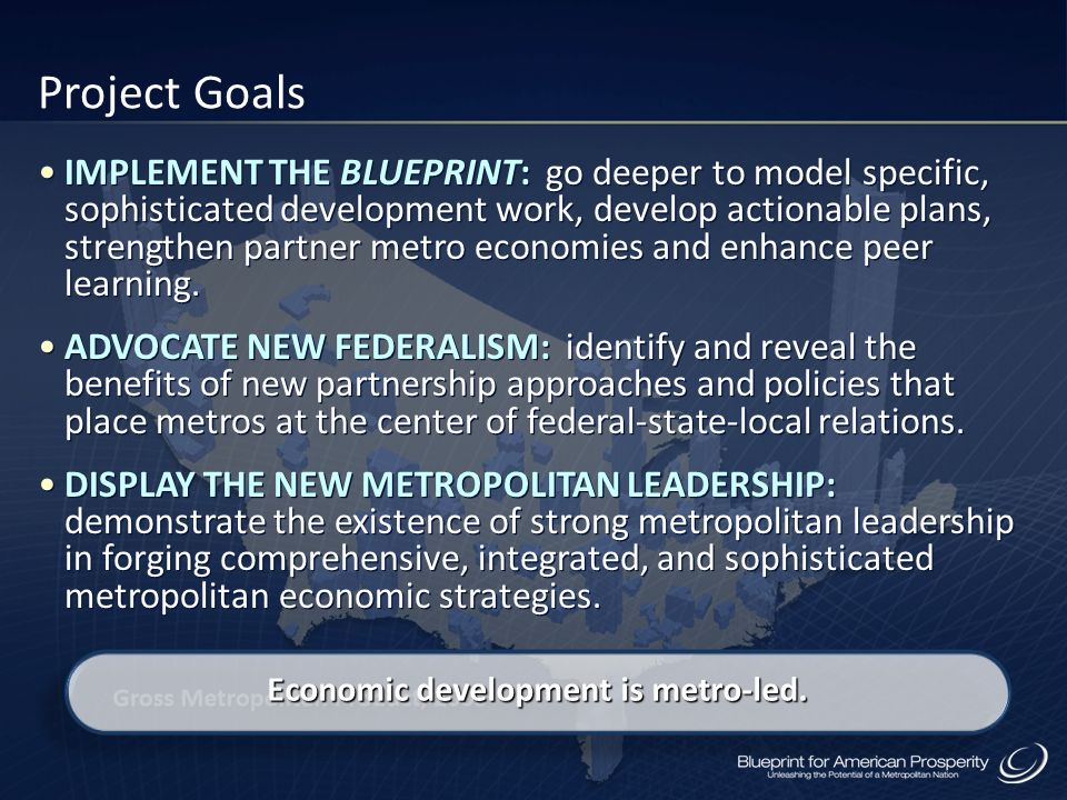 Economic development is metro-led.