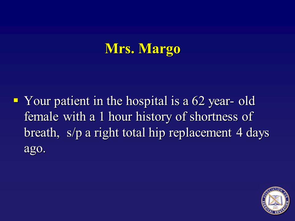 Mrs. Margo