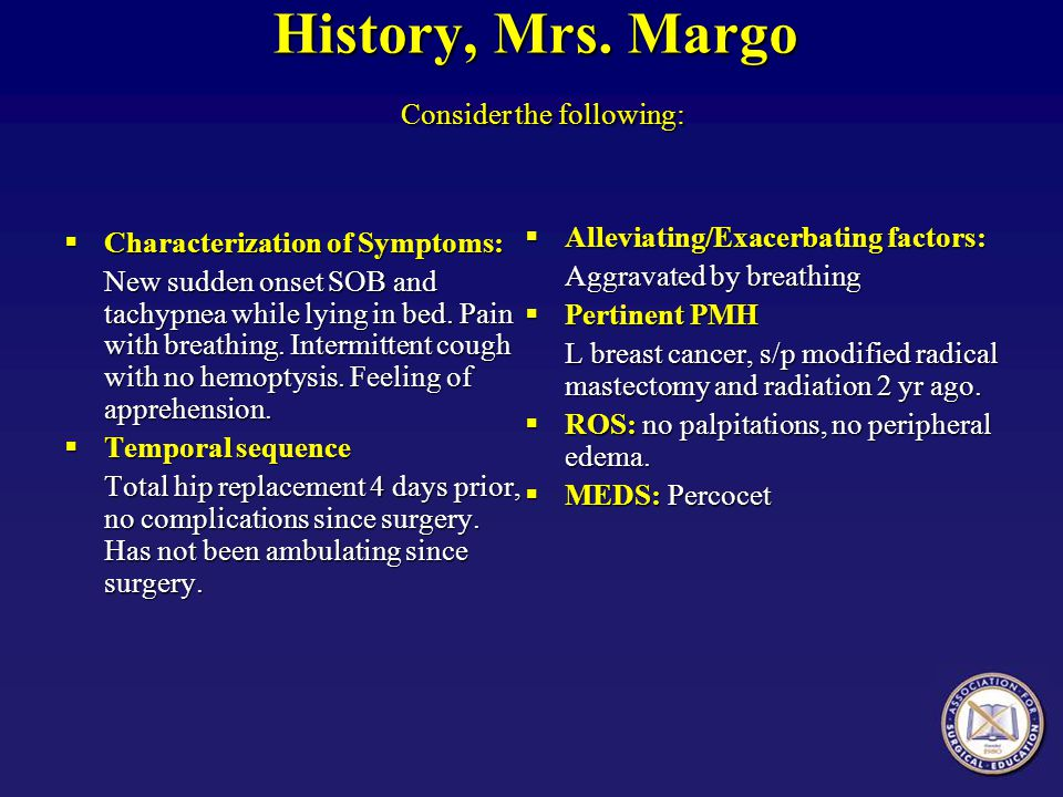 History, Mrs. Margo Consider the following: