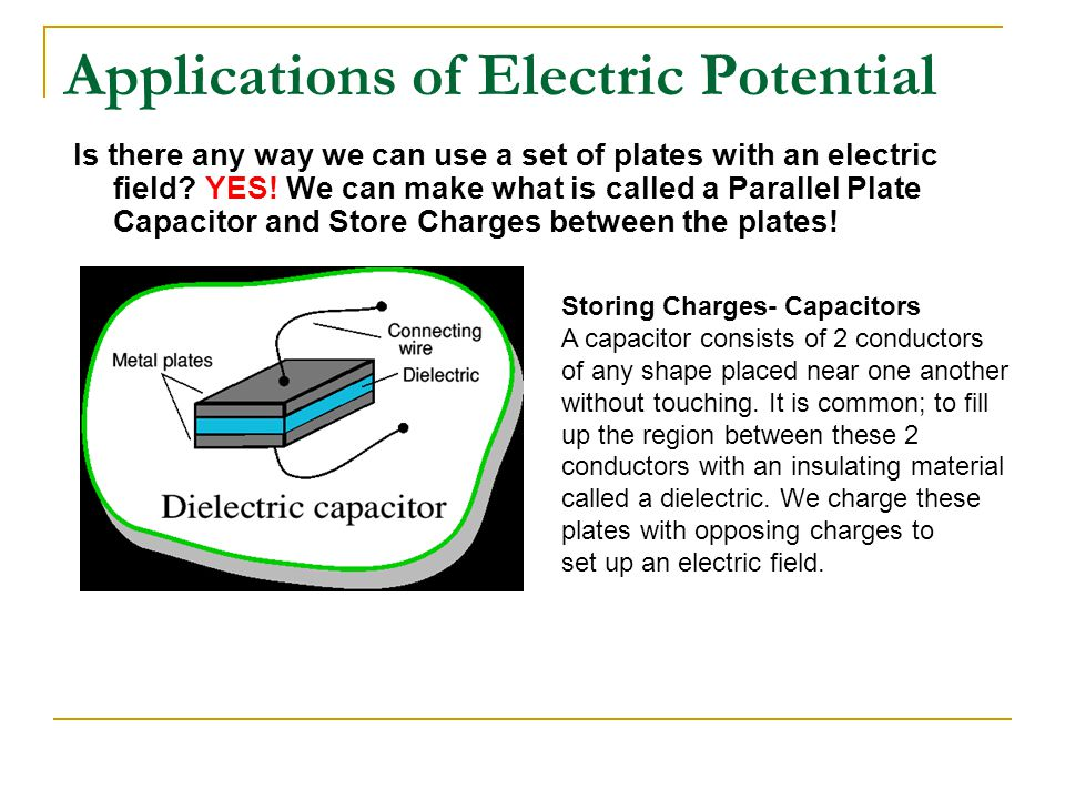 Applications of Electric Potential