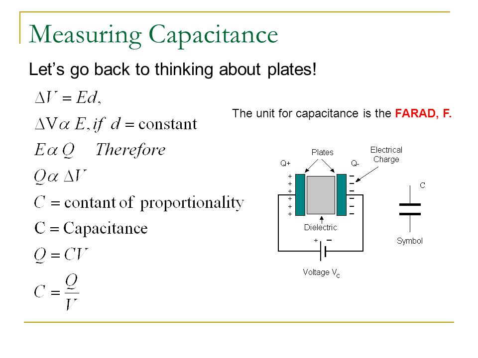 Measuring Capacitance