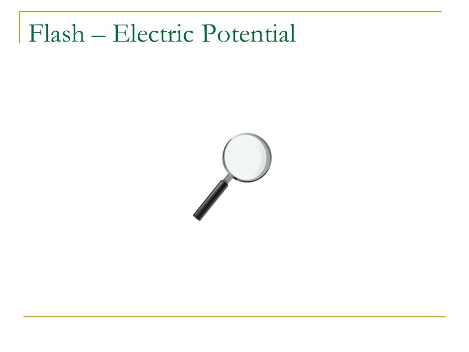 Flash – Electric Potential
