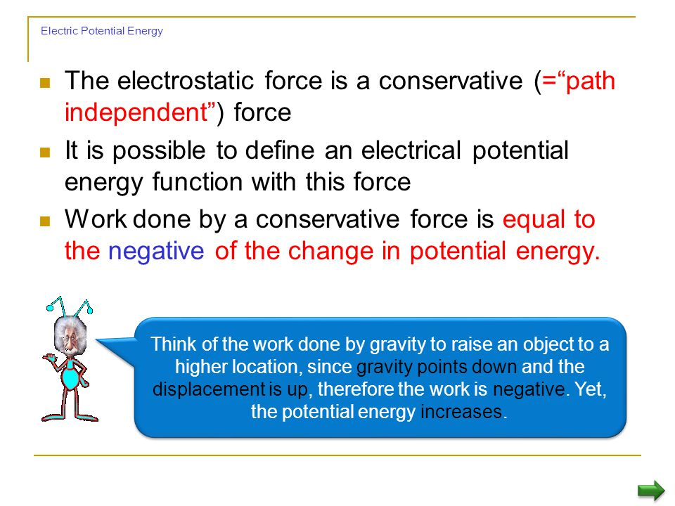 Electric Potential Energy