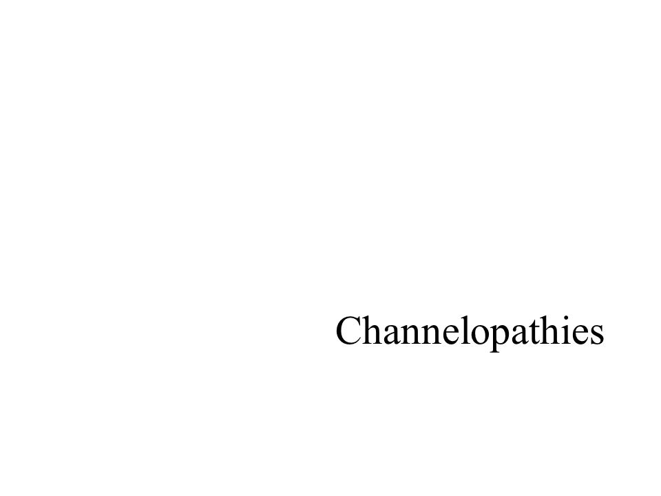 Channelopathies