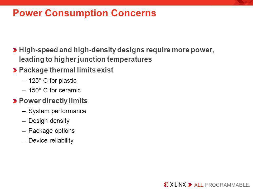 Power Consumption Concerns