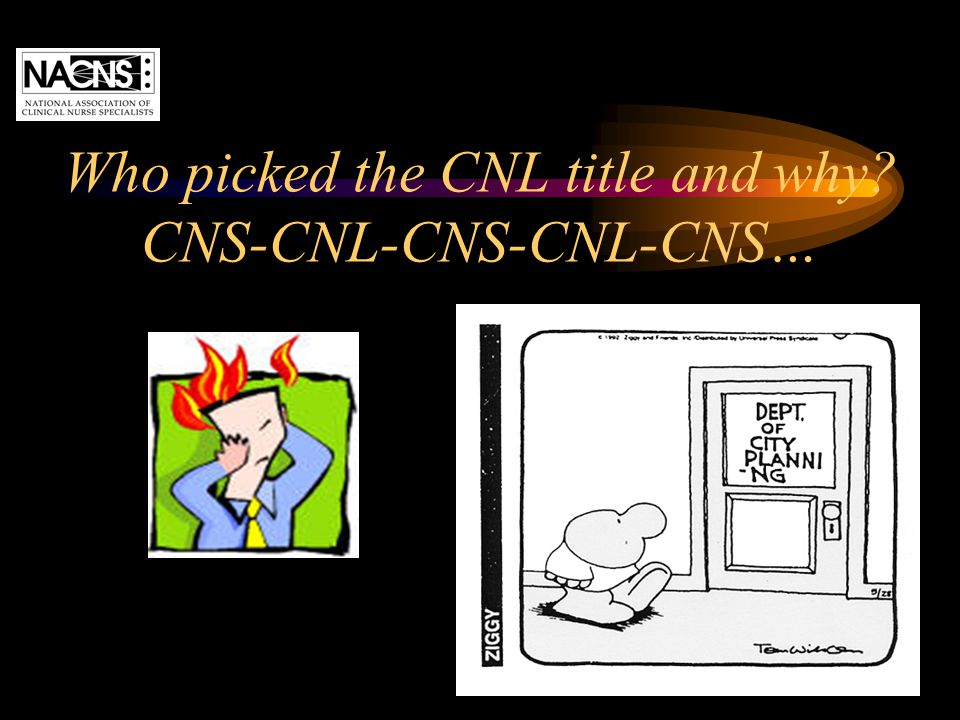 Who picked the CNL title and why CNS-CNL-CNS-CNL-CNS…
