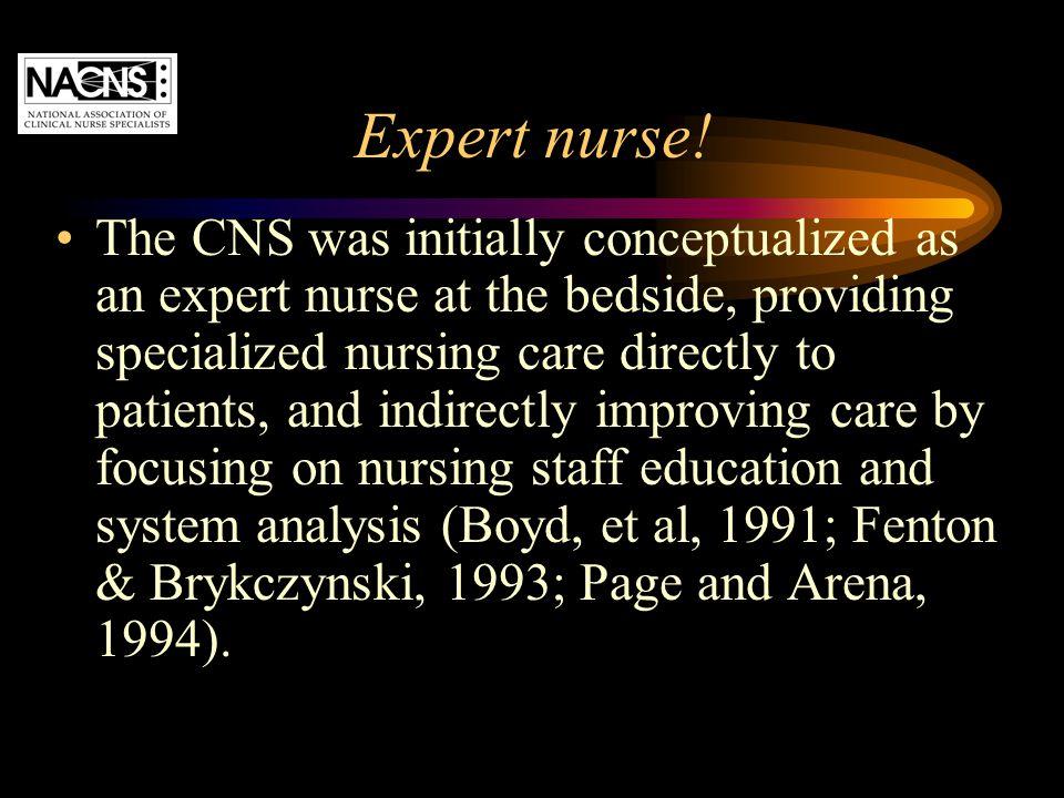 Expert nurse!