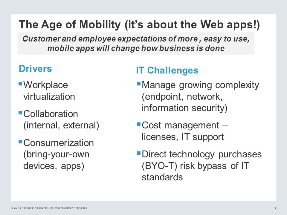 The Age of Mobility (it's about the Web apps!)