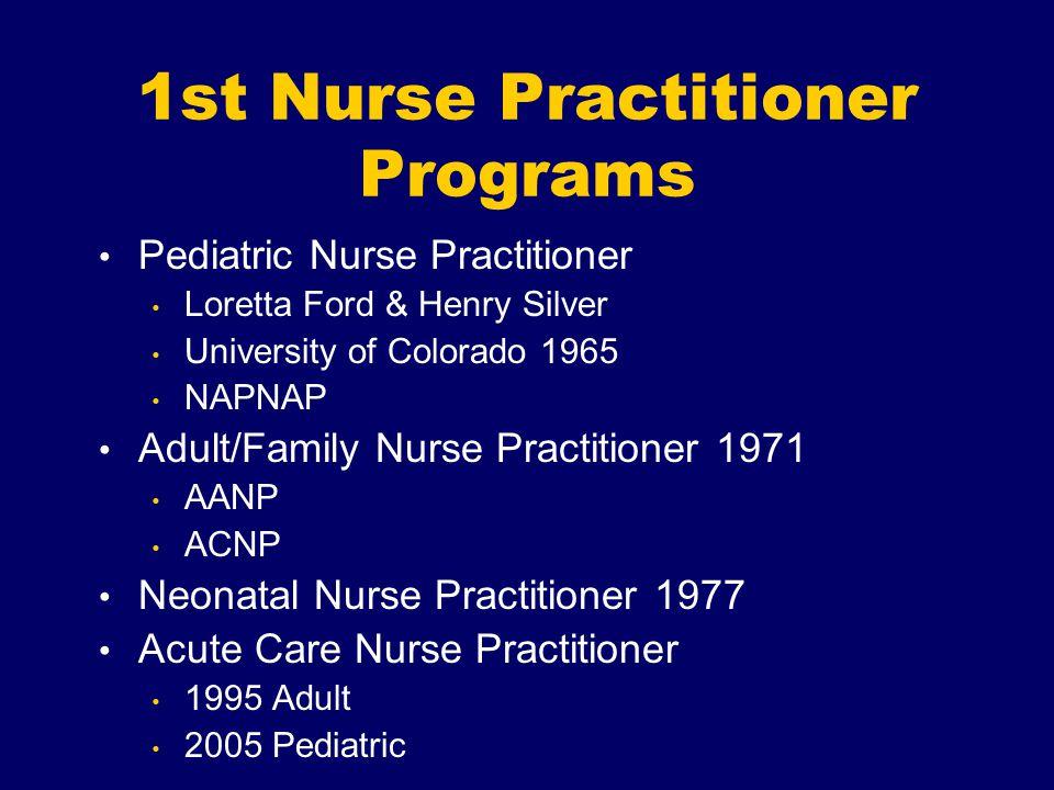 1st Nurse Practitioner Programs