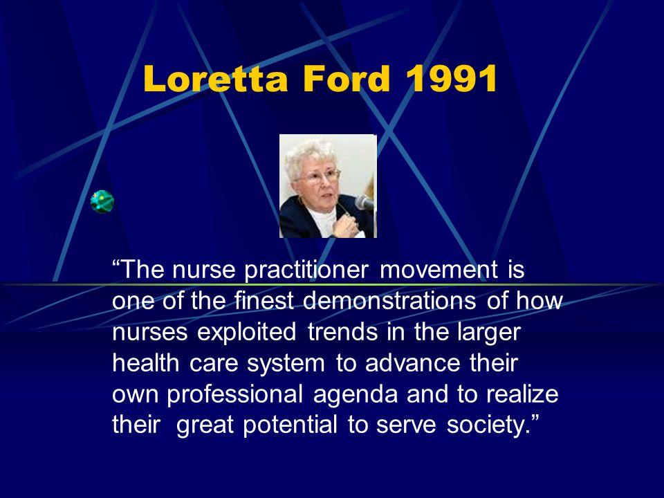 Loretta Ford 1991