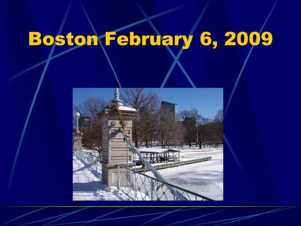 Boston February 6, 2009