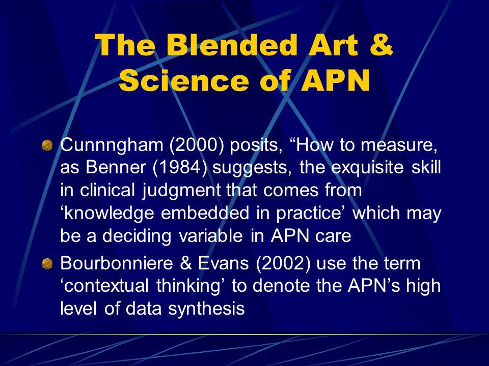 The Blended Art & Science of APN