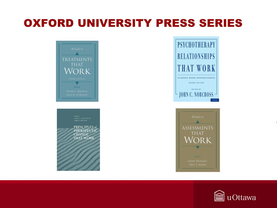 OXFORD UNIVERSITY PRESS SERIES