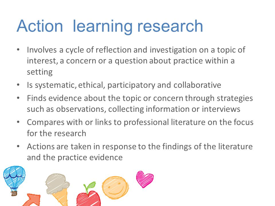 Action learning research