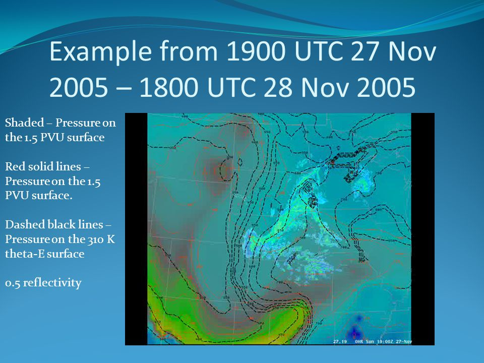 Example from 1900 UTC 27 Nov 2005 – 1800 UTC 28 Nov 2005