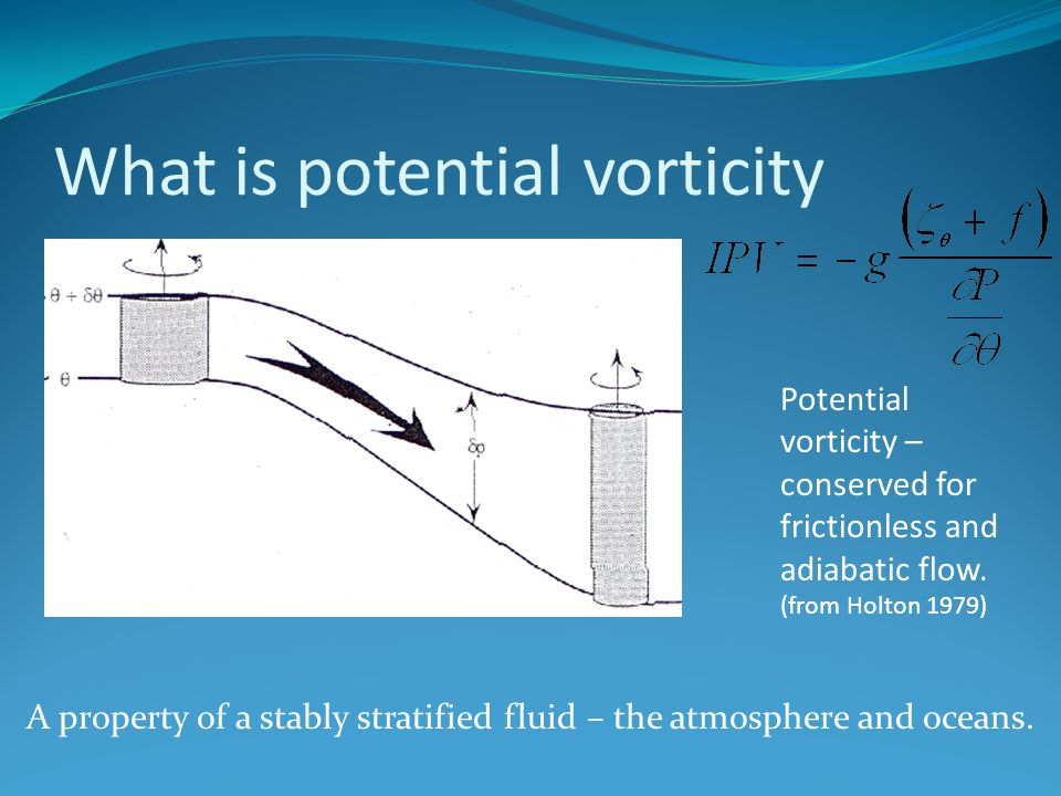 What is potential vorticity