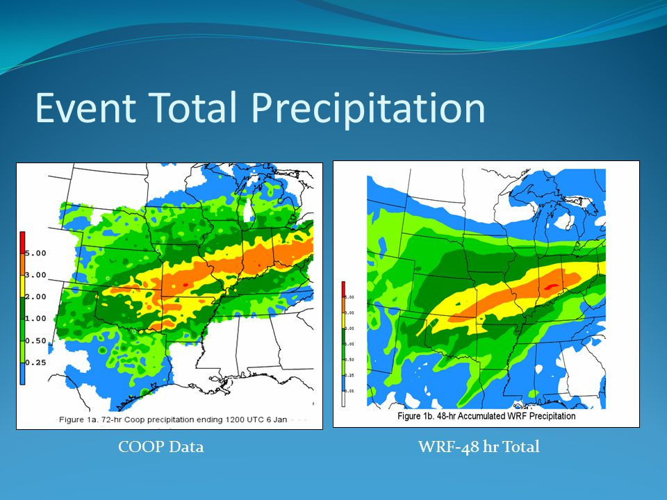 Event Total Precipitation