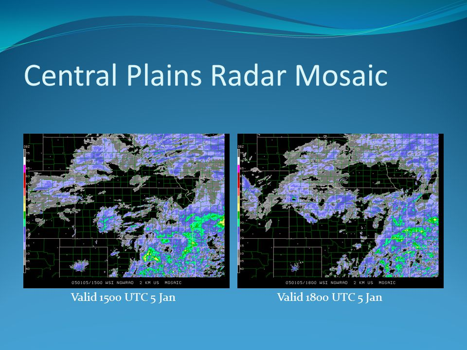 Central Plains Radar Mosaic