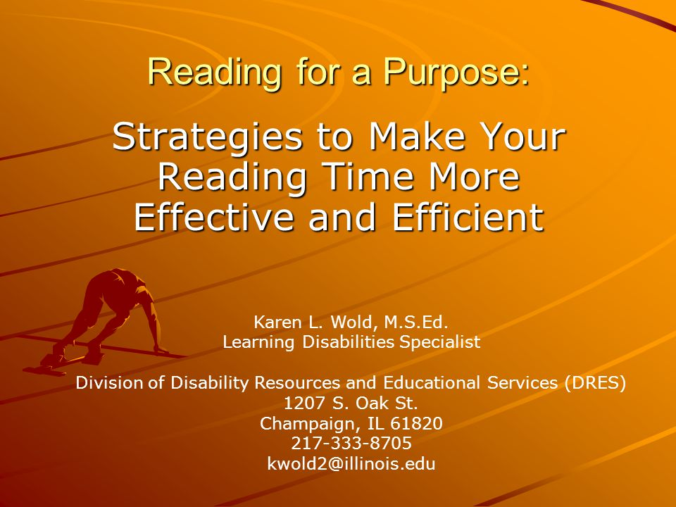 Strategies to Make Your Reading Time More Effective and Efficient