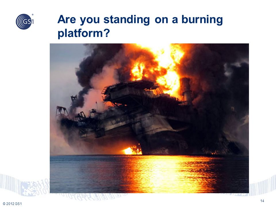 Are you standing on a burning platform