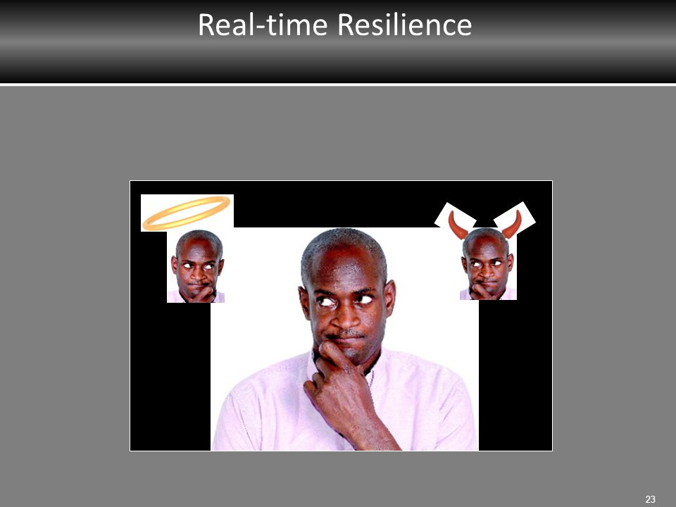 Real-time Resilience MRT Instructor: Introduce Real Time Resilience.