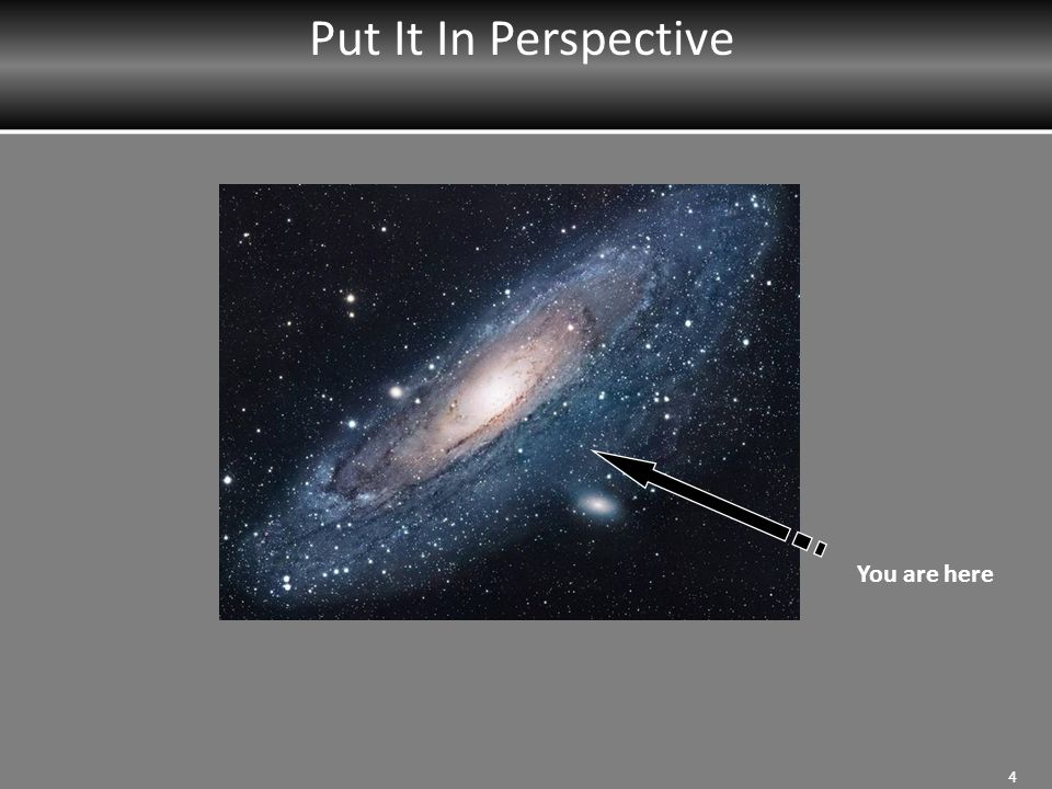 Put It In Perspective You are here MRT Instructor: