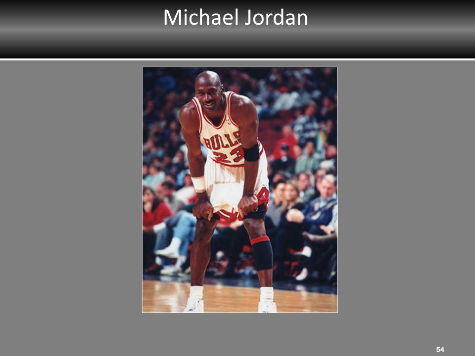 Michael Jordan MRT Instructor: Ask participants to list strengths.