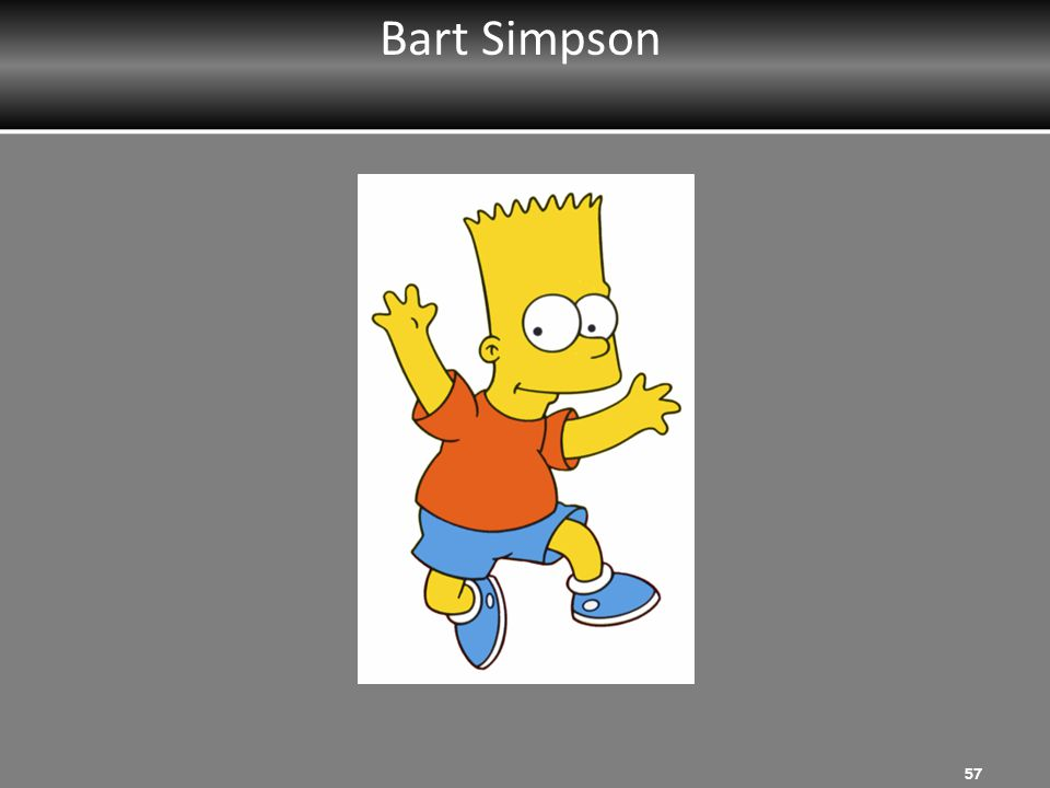 Bart Simpson MRT Instructor: Ask participants to list strengths.