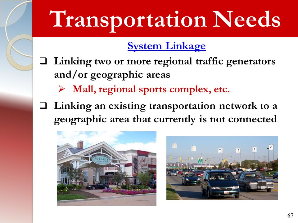 Transportation Needs System Linkage