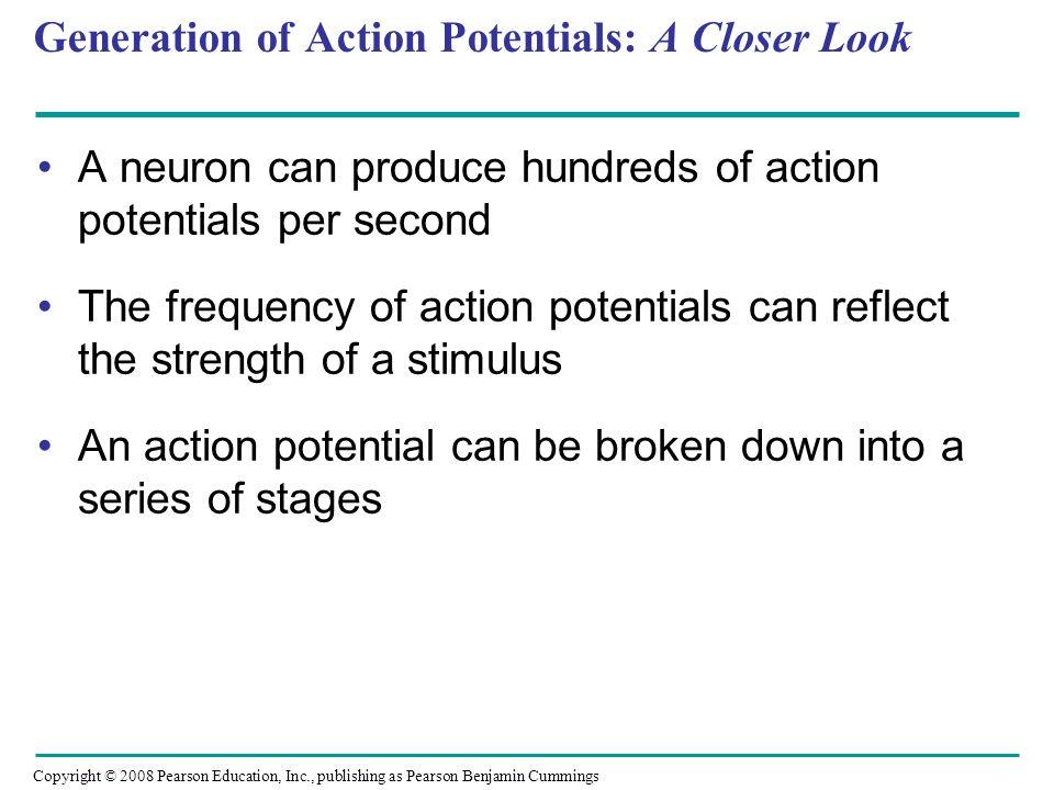 Generation of Action Potentials: A Closer Look
