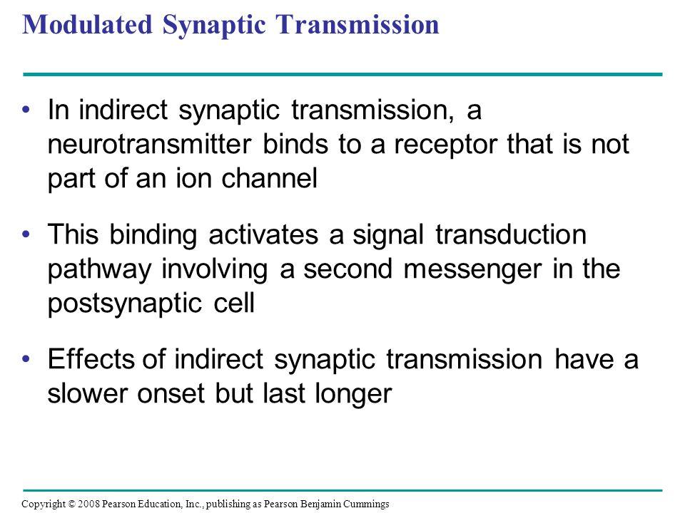 Modulated Synaptic Transmission