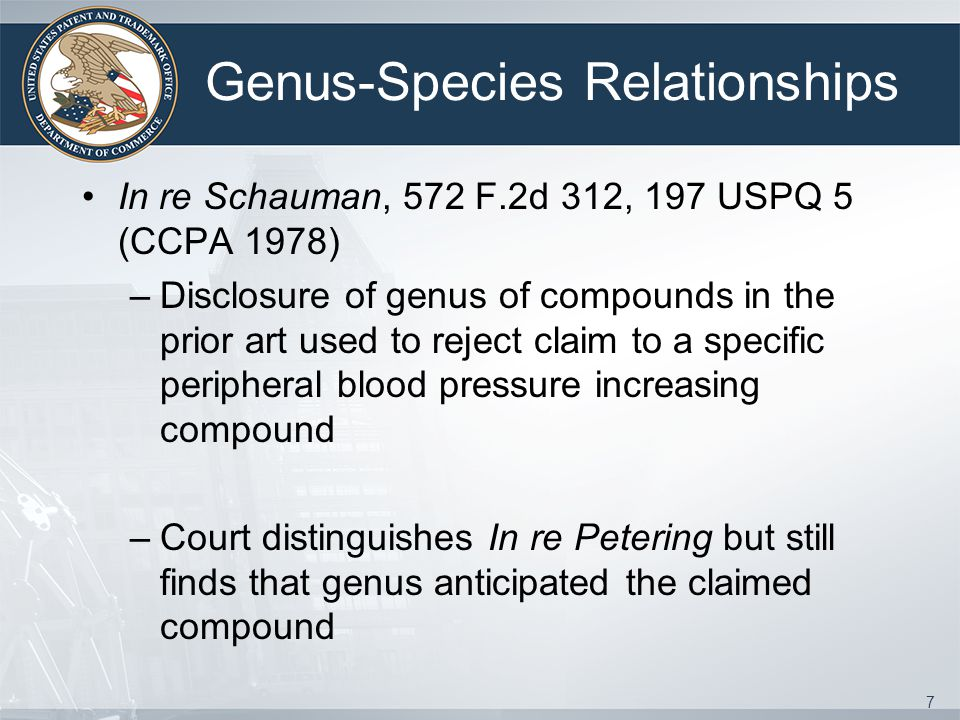 Genus-Species Relationships
