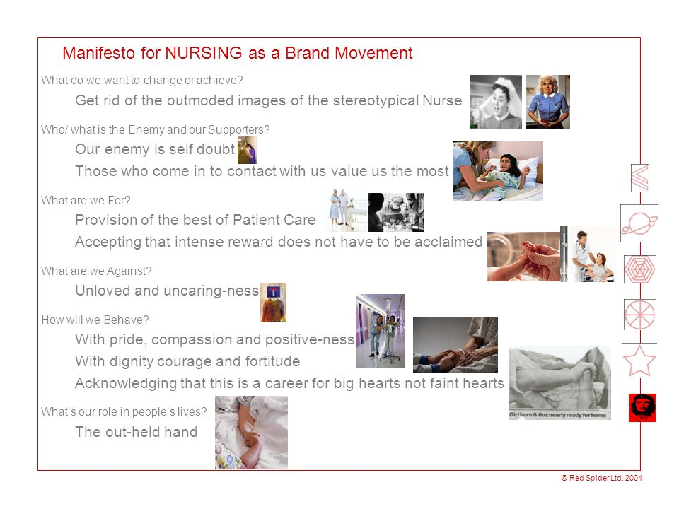 Manifesto for NURSING as a Brand Movement