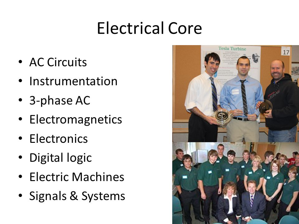 Electrical Core AC Circuits Instrumentation 3-phase AC