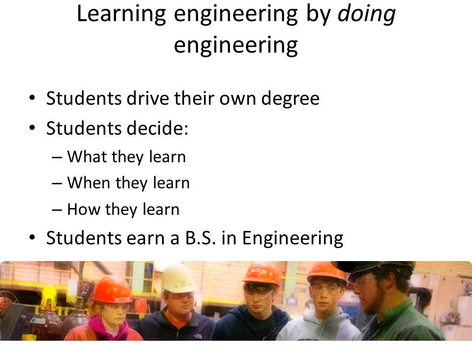 Learning engineering by doing engineering