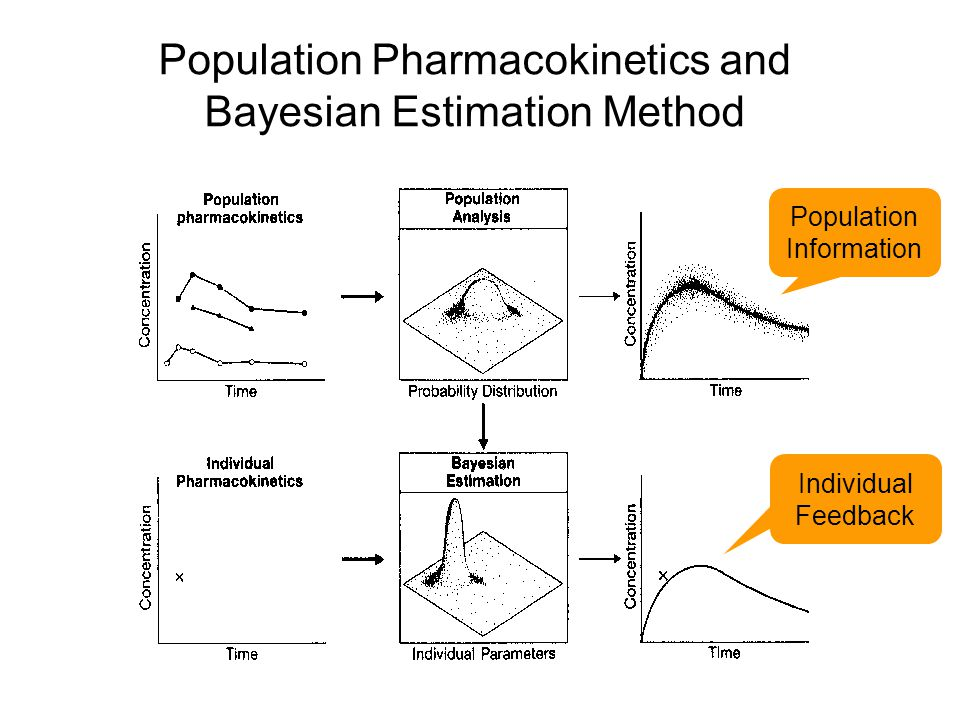 Population Pharmacokinetics and Bayesian Estimation Method