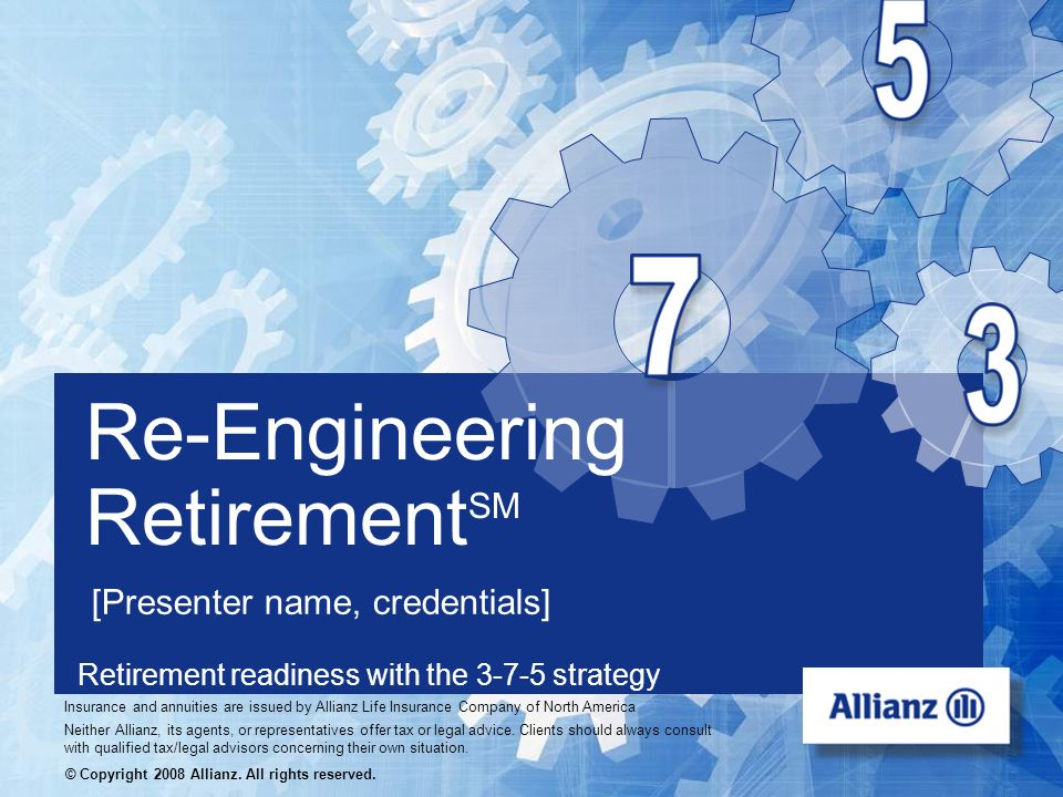 Retirement readiness with the 3-7-5 strategy