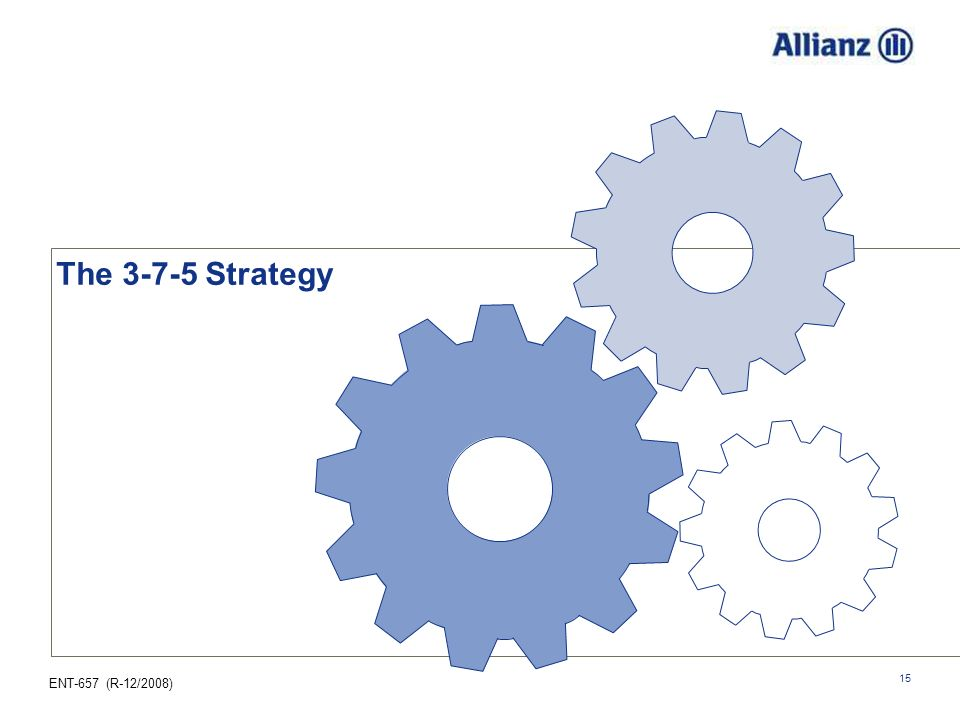 25.03.2017 The 3-7-5 Strategy How does Re-engineering Retirement 3-7-5 Strategy actually work