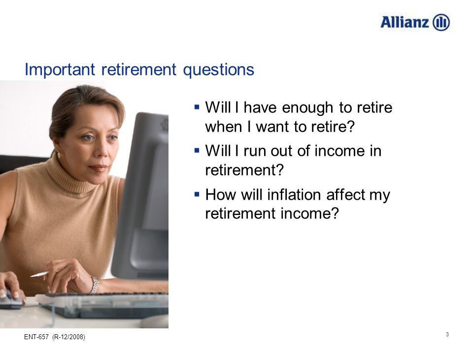 Important retirement questions