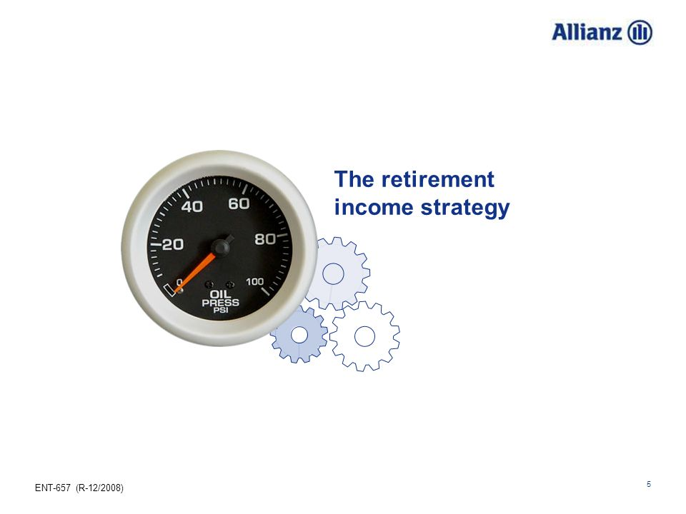 The retirement income strategy