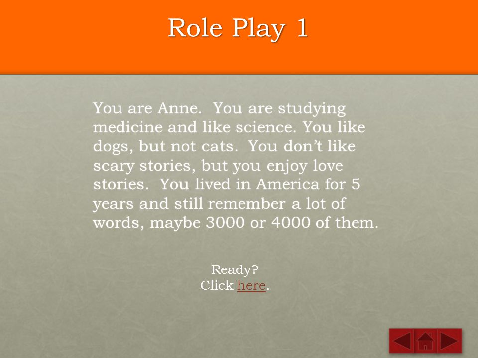 Role Play 1
