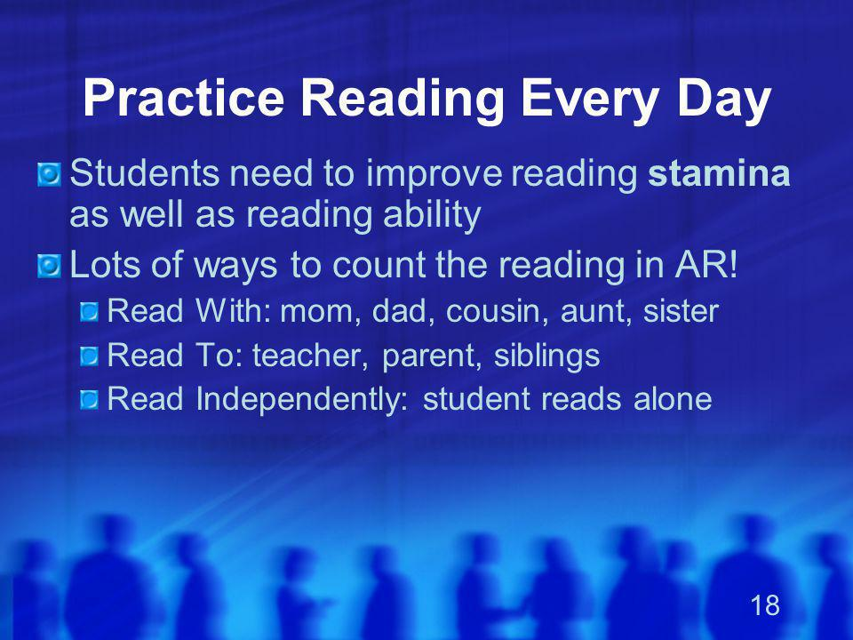 Practice Reading Every Day