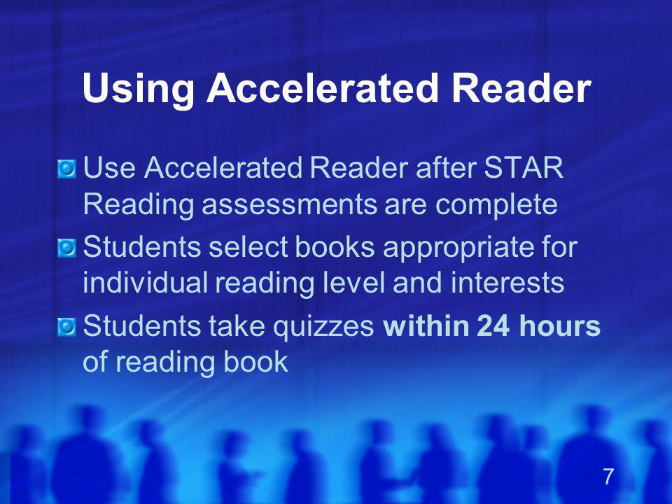 Using Accelerated Reader