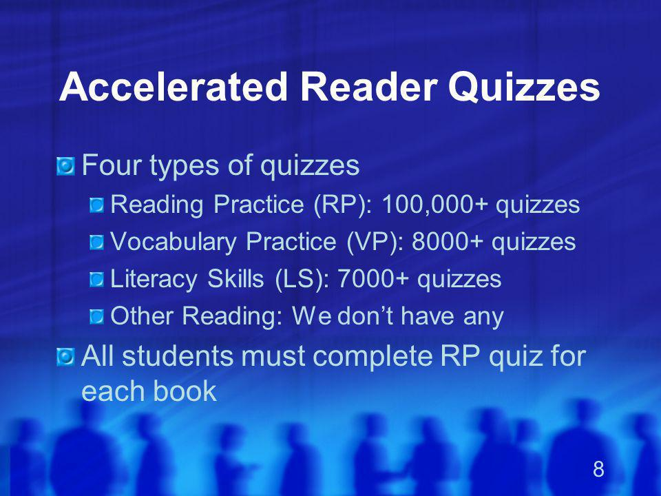 Accelerated Reader Quizzes
