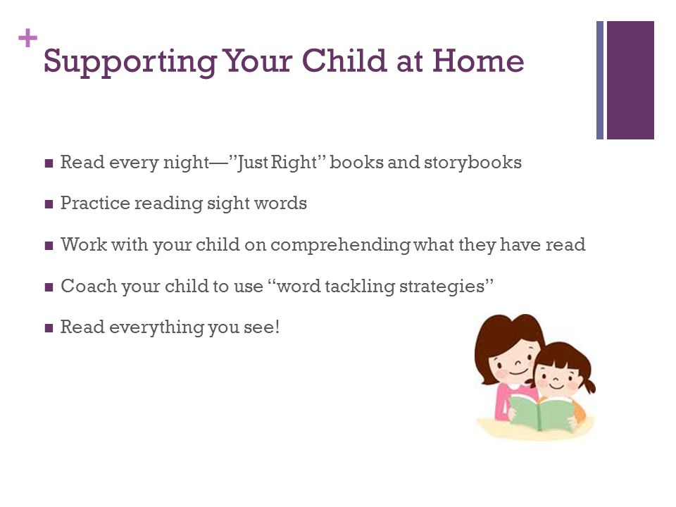 Supporting Your Child at Home